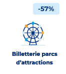 bloc floating billetterie parcs d'attractions